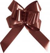 Mini noeud automatique uni chocolat