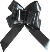 Mini noeud automatique uni noir