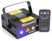Bianca Double Laser 330 mW RGB Gobo IRC