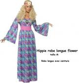 HIPPIE ROBE LONGUE FLOWER