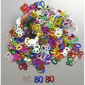 Confettis de table 80