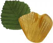 Sachet de 100 pétales avec feuilles couleur or