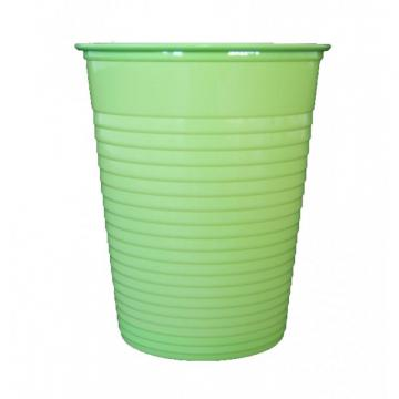 50 gobelets plastique vert anis