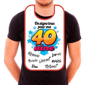 Bavoir 40aine