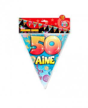 Guirlande fanions 50 ans