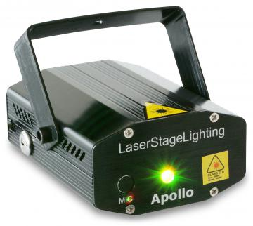 Apollo Laser rouge vert multipoints