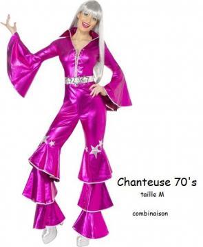 CHANTEUSE 70'S