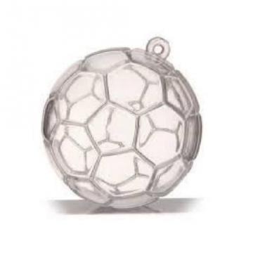 Contenant ballon foot transparent