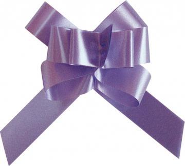 Mini noeud automatique uni violet