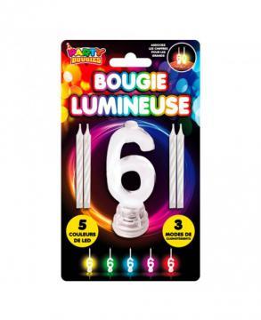 Bougie Lumineuse 6