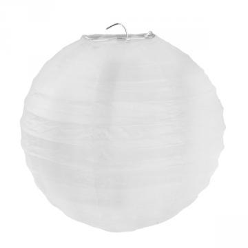 2 lanternes 20cm blanches