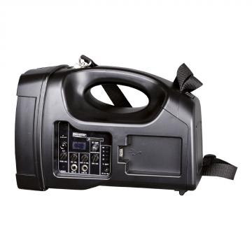 Sono Portable + USB + 1 Micros Main + 1 Body Pack Serre-Tête + Bluetooth - BE 1400 PT