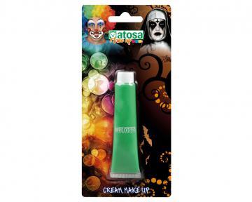 Maquillage tube vert