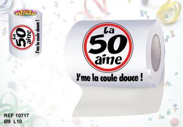Rouleau papier toilette 50aine