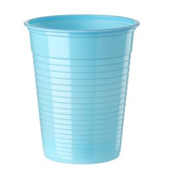 50 gobelets plastique bleu