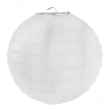2 lanternes 30cm blanches