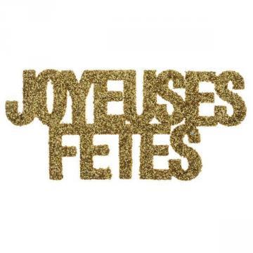 Confettis or pailleté Joyeuses Fêtes