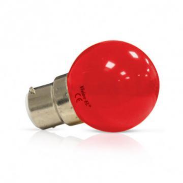 Ampoule LED B22 1W Rouge