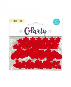 Trio confettis rouge