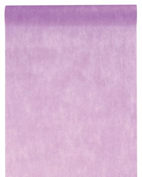 Chemin de table uni violet