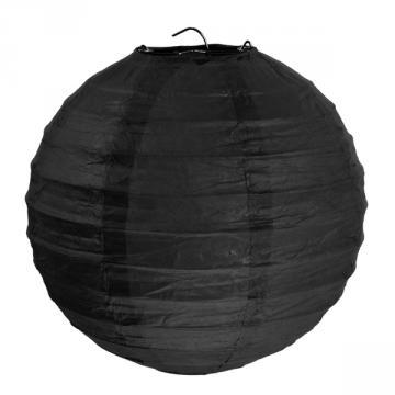 2 lanternes 30cm noires