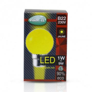Ampoule LED B22 1W Jaune