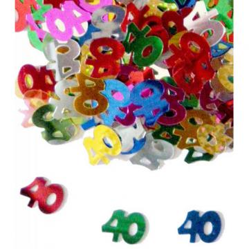 Confettis de table 40