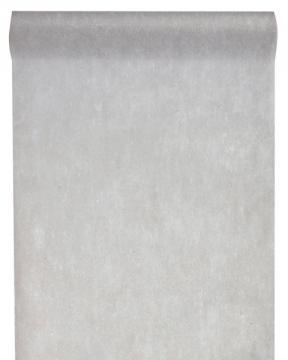Chemin de table uni gris