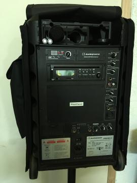 Sono portable 120W sur batterie