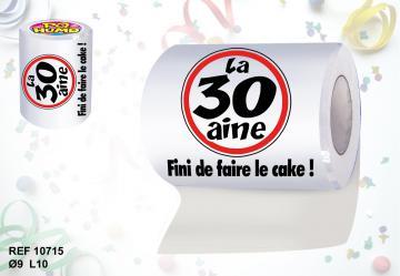 Rouleau papier toilette 30aine