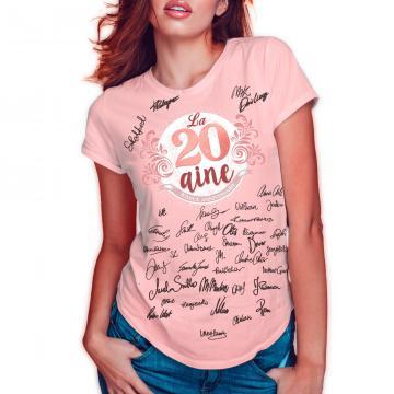 T-shirt 18 ans femme