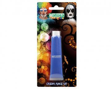 Maquillage tube aqua bleu