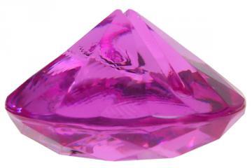 Marque place diamant fuschia